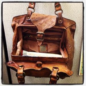 blog - purse inside
