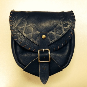 etsy - satchel black front