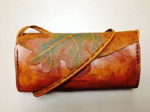 oak purse front