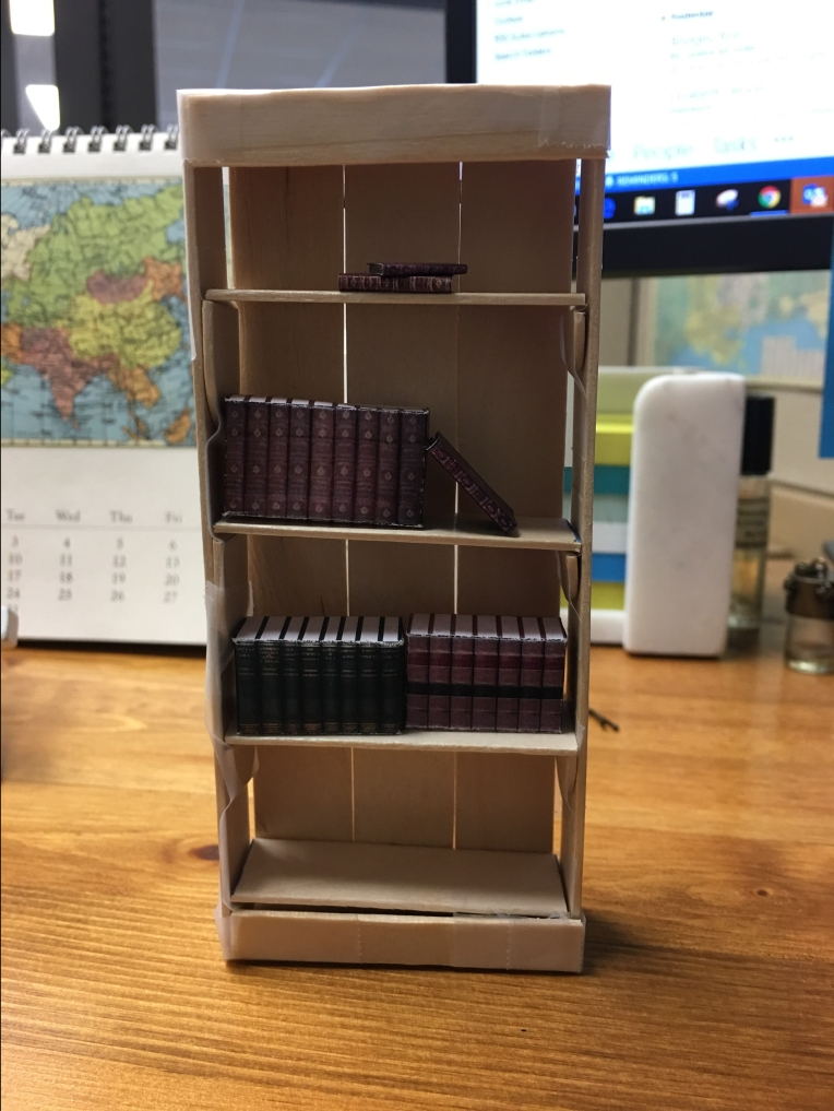 dollhouse - shelf prototype